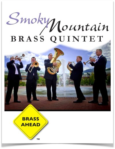 Smoky Mountain Brass Quintet Blank Flyer Template